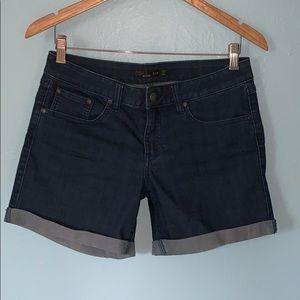 Prana Size 6/28 Hemmed Stretch Jean Shorts